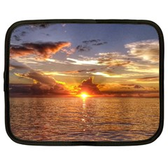 TAHITIAN SUNSET Netbook Case (Large)
