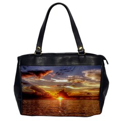 TAHITIAN SUNSET Office Handbags