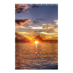 TAHITIAN SUNSET Shower Curtain 48  x 72  (Small)