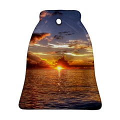 TAHITIAN SUNSET Bell Ornament (2 Sides)