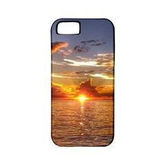 TAHITIAN SUNSET Apple iPhone 5 Classic Hardshell Case (PC+Silicone)