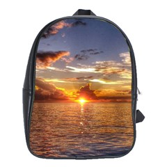 TAHITIAN SUNSET School Bags (XL)