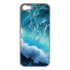STORM WAVES Apple iPhone 5 Case (Silver)