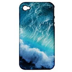 STORM WAVES Apple iPhone 4/4S Hardshell Case (PC+Silicone)