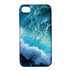 STORM WAVES Apple iPhone 4/4S Hardshell Case with Stand