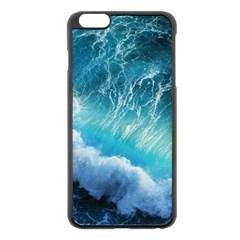 STORM WAVES Apple iPhone 6 Plus/6S Plus Black Enamel Case