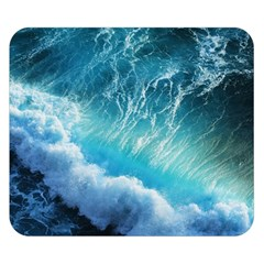 STORM WAVES Double Sided Flano Blanket (Small)