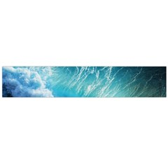 STORM WAVES Flano Scarf (Large)
