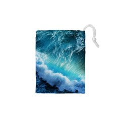 STORM WAVES Drawstring Pouches (XS)