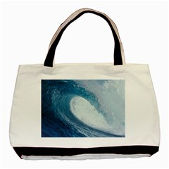 OCEAN WAVE 2 Basic Tote Bag