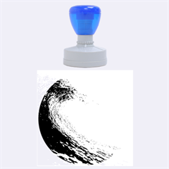 OCEAN WAVE 2 Rubber Round Stamps (Large)