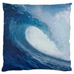 OCEAN WAVE 2 Large Cushion Cases (One Side)