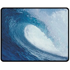 OCEAN WAVE 2 Double Sided Fleece Blanket (Medium)