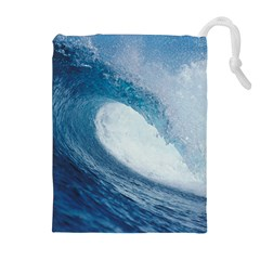 OCEAN WAVE 2 Drawstring Pouches (Extra Large)