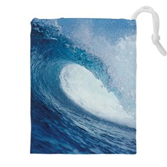 OCEAN WAVE 2 Drawstring Pouches (XXL)