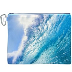 OCEAN WAVE 1 Canvas Cosmetic Bag (XXXL)