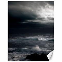 OCEAN STORM Canvas 12  x 16