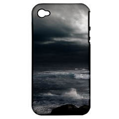 OCEAN STORM Apple iPhone 4/4S Hardshell Case (PC+Silicone)