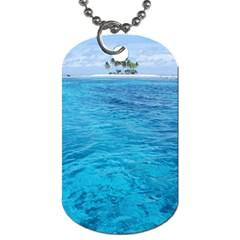 OCEAN ISLAND Dog Tag (Two Sides)