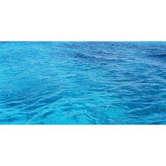 Ocean Island You Are Invited 3d Greeting Card (8x4)