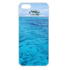 OCEAN ISLAND Apple iPhone 5 Seamless Case (White)