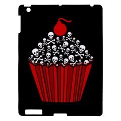 Skull Cupcake Apple Ipad 3/4 Hardshell Case