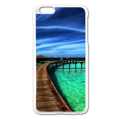 MALDIVES 2 Apple iPhone 6 Plus/6S Plus Enamel White Case