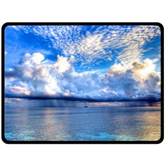 MALDIVES 1 Fleece Blanket (Large)