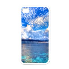 MALDIVES 1 Apple iPhone 4 Case (White)