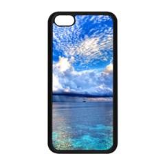 MALDIVES 1 Apple iPhone 5C Seamless Case (Black)