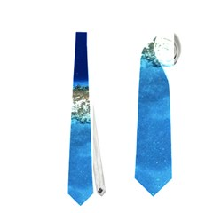 GREAT BLUE HOLE 2 Neckties (One Side)