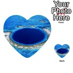 GREAT BLUE HOLE 2 Multi-purpose Cards (Heart)  Front 1