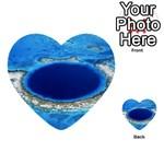GREAT BLUE HOLE 2 Multi-purpose Cards (Heart)  Back 12