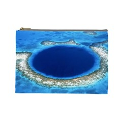 GREAT BLUE HOLE 2 Cosmetic Bag (Large)