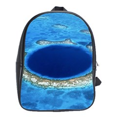 GREAT BLUE HOLE 2 School Bags(Large)
