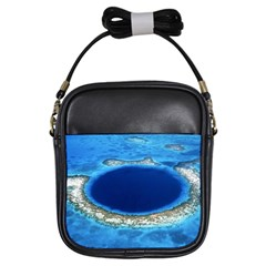 GREAT BLUE HOLE 2 Girls Sling Bags