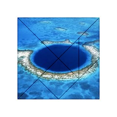 GREAT BLUE HOLE 2 Acrylic Tangram Puzzle (4  x 4 )