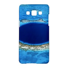 GREAT BLUE HOLE 2 Samsung Galaxy A5 Hardshell Case