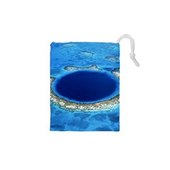 Great Blue Hole 2 Drawstring Pouches (xs)