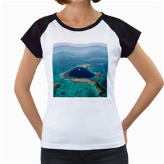 GREAT BLUE HOLE 1 Women s Cap Sleeve T
