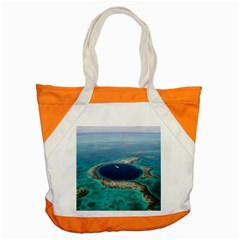 GREAT BLUE HOLE 1 Accent Tote Bag