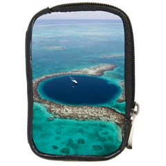 GREAT BLUE HOLE 1 Compact Camera Cases