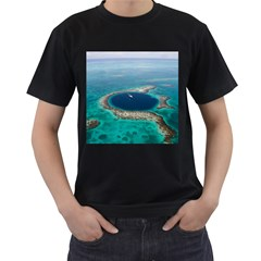 GREAT BLUE HOLE 1 Men s T-Shirt (Black)