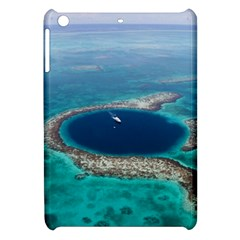 GREAT BLUE HOLE 1 Apple iPad Mini Hardshell Case