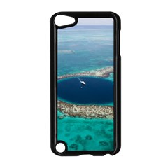 GREAT BLUE HOLE 1 Apple iPod Touch 5 Case (Black)
