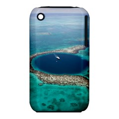 GREAT BLUE HOLE 1 Apple iPhone 3G/3GS Hardshell Case (PC+Silicone)