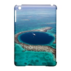 GREAT BLUE HOLE 1 Apple iPad Mini Hardshell Case (Compatible with Smart Cover)