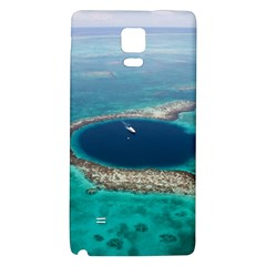 GREAT BLUE HOLE 1 Galaxy Note 4 Back Case