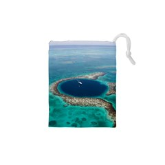 Great Blue Hole 1 Drawstring Pouches (xs)