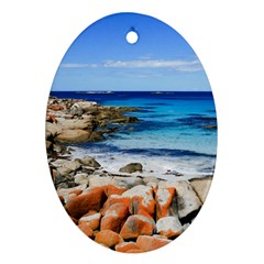 BAY OF FIRES Ornament (Oval)
